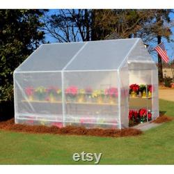 10 ft x 10 ft Greenhouse, White