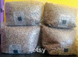 16 x 3lb Sterilized (Rye, Wheat or Oat) Grain Bag with Injection Port