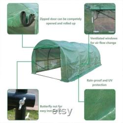 20 x10 x7 A Heavy Duty Walk in Greenhouse Plant Garden Dome Green House Tent