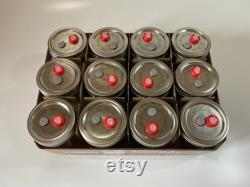 24x Sterilized PF Tek, BRF Cake Jars with Self-healing injection port and 0.2micron Syringe filter (250ML)