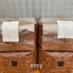 30lb Sterilized Milo withinjection ports