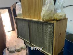 48x24x20 Custom Laminar Flow Hood HEPA 99.93 0.3 Micron Filter