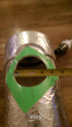 4 Spot 6 inch Hydroponics Tube with connection tubing 52 long Baby to Adult