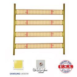 500w Quantum LED bar Light Samsung LM301H 3.5k 660nm UV Meanwell HLG-480 driver