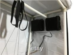 600W Led Grow Lights Reflective Hydroponics GrowBox Tent Kit 20 x20 x40 White