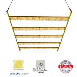 600w Quantum LED bar Light Samsung LM301H 3.5k 660nm UV Meanwell HLG-480 driver