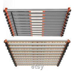 650 Watt Osram 10 Strip Full Spectrum Quantum Bar Complete Grow Light