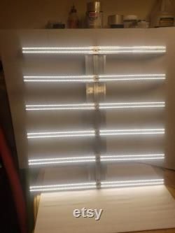 8 x Sun Board DIY kit 576 Samsung lm561c LEDs Plus 96 Red Booster Quantum Grow Light Meanwell HLG Driver and heatsinks