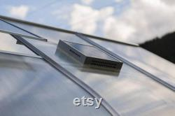 9x21 Heavy Duty Greenhouse kit, ClimaPod Passion Series (4MM polycarbonate twin wall panels)