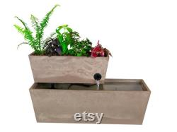 AquaSprouts Fountain Hydroponic, Aquaponic, Water Garden (6 Gallons)