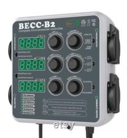 BECC-B2 Hydroponic Environmental Controller CO2 ppm control Grow Aquaponics Terrium Mushroom Greenhouse