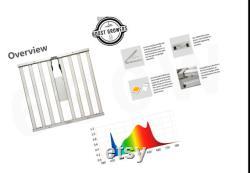 BOOST Growers 650W 6 Bars Full Spectrum LED Grow Light Hydroponics Plants Active