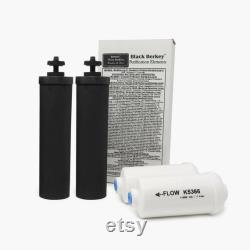 Big Berkey Water System With Black Filters and or Fluoride Filters (2.5 Gal)