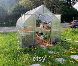 ClimaPod Spirit 7x12, Greenhouse series with 6 mm polycarbonate