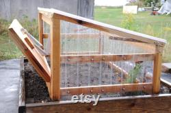 Cold Frame Ground Unit with Automatic Vent