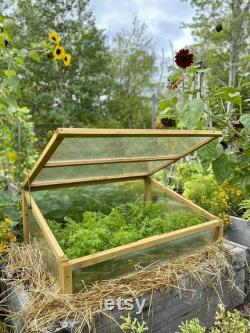 Cold frame planter greenhouse grow shed plant cover Cold frame Large