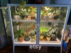DIY Ikea Greenhouse Modification Kit Milsbo Wide Horizontal Shelf and Wire Grids