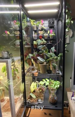 DIY Ikea Greenhouse Modification Kit Rudsta Tall Horizontal Shelf