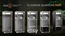 Flo QUANTUM tent 60x60x160cm growbox set