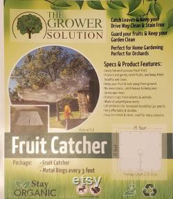 Fruit Catcher and leaf catcher ships from usa made in usa 16 ft x 16 ft