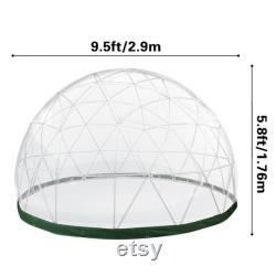 Garden Dome Tent- Garden Tent- Geodesic Garden Dome- Garden Igloo- Greenhouse Dome- Dome Gazebo- Garden Dome Conservatory- Dinning Dome