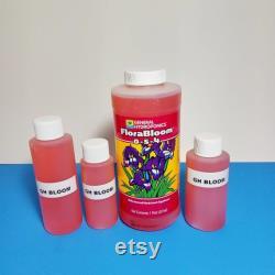 General Hydroponics Flora Series Trio Grow Micro Bloom Nutrients 3-Pack bundle Choice of 2oz, 3oz or 4oz bottles