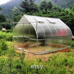 Greenhouse, ClimaPod Hobby 9x12 (4 mm Polycarbonate)