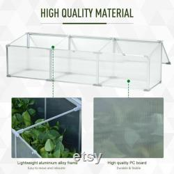 Greenhouse Favorite Corner DIY Plant Care Green Yard Patio Lawn Garden Hobby Planting Tree Aluminum Frame Adjustable Roof Open, Vented Cold