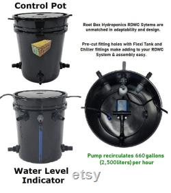 Grow 16 4 Row Recirculating Deep Water Culture RDWC System DWC