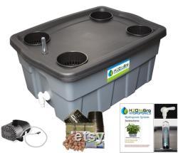 H2OtoGro 2.0 Series Venturi Bubbler 12 Hydroponic Kit