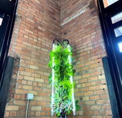 HD1 Hydroponic Grow Tower with Lighting System by Hydro Designs