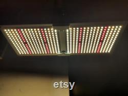 High Output Twin Quantum Board 2000 watts of LED Grow Light. Oversized 200 Watt Driver