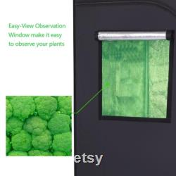 Home Use Dismountable Hydroponic Plant Growing Tent