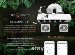 Integrated GROWBOX FLO MODULE system