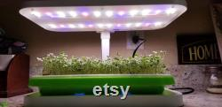 LED Automated Light System for Home Microgreen Growers