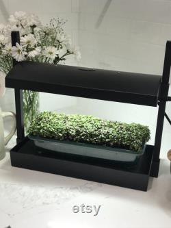 LED Grow Light Compact Table Top and Self Watering Garden System Hydroponic Plant gardening light