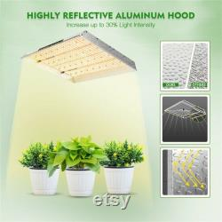 MARS HYDRO TSW 2000W Led Grow Light 3x3 4x4ft Coverage Full Spectrum for Indoor Plant Veg Flower Dimming knob for Hydroponic Greenhouse