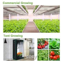Mars Hydro FC3000 Samsung LED Grow Light 3x3ft UV IR with MeanWell Driver Full Spectrum Growing Light Daisy Chain Dimmable For Indoor Plants