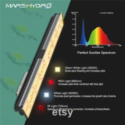 Mars Hydro SP150 LED Grow Lights 2x2 ft Coverage Full Spectrum for Indoor Plants VEG and Flower with 322 SMD LEDs No Noise Replace hps