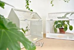 Mini Greenhouse Indoors Plant Growing Kit