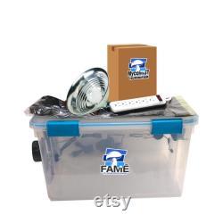 Mushroom Grow Kit FAME Kit Fully Automated Mushroom Ecosystem Mushroom Kit with Temperature, Humidity, fanning and Lighting control