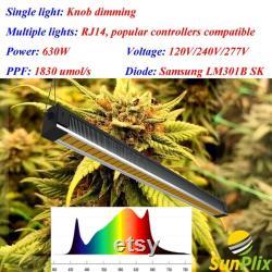 SunPlix G4 630W Full Spectrum LED Grow Light