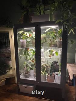 Wide Fabrikor Kit for DIY Ikea Greenhouse Modification (Corner Acrylic Shelves and Wire Grids)